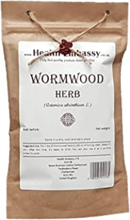 Wormwood Herb (Artemisa Absinthium L. - Herba Absinthii) - Health Embassy - 100% Natural (50g)