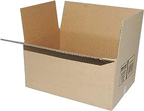 Cajas de Cartón, Cajas de Mudanza y Envíos Postales Pack de 12, Alta Calidad, Resistente-Color Marrón (40x30x25cm)
