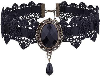 Simulation Fashion Crystal Pendant Chunky Chain Necklace Choker Bib Necklace Women Jewelry
