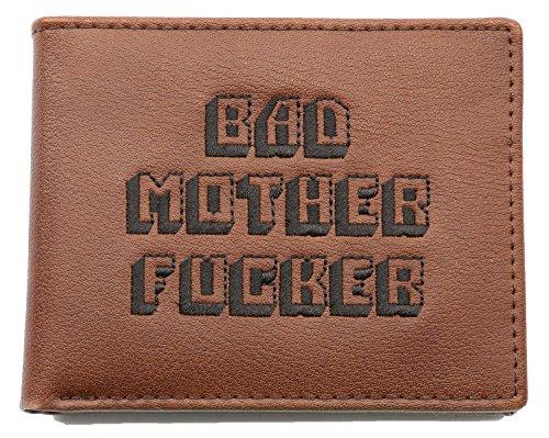 Porte-monnaie marron Pulp Fiction - Bad Mother Fucker