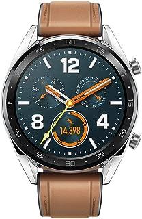 HUAWEI WATCH GT スマートウォッチ GPS内蔵 気圧高度計 iOS/Android対応 WATCH GT Classic/Silver ベルト/レザーシリコン 【日本正規代理店品】