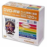 HIDISC DVD-RW HDDRW12NCP10SC 10枚