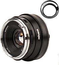 Pergear 25mm F1.8 交換レンズ オリンパスとパナソニック用 マイクロフォーサーズ 交換用レンズ f1.8-f16 明るい ボケ味 ポートレート 風景に最適 GM1 GM5 GM7 GX1 GX7 GX8 GX86 GX9 G1 ...