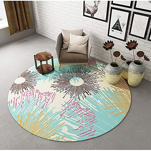 HyxxQ Vloerkleed voor laagpolig tapijt, ademend, antislip, gemakkelijk te reinigen, geschikt voor slaapkamer, leren, balkon, woonkamer, keuken