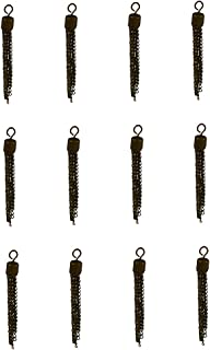 Prettyia 12pcs 50mm Tassel Charm Pendant For Chain Necklace Jewelry Making DIY Craft