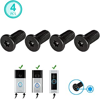 Allicaver Ring Doorbell Replacement Security Screws,Compatible with ALL Ring Doorbell Models (4 Pack)