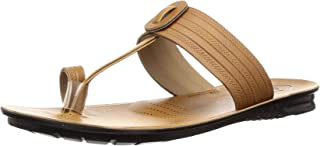 PARAGON Men's Brown Formal Thong Sandals-9 UK/India (43 EU)(PU6775G)