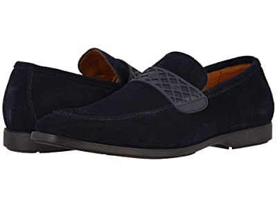 Stacy Adams Crispin (Navy) Men