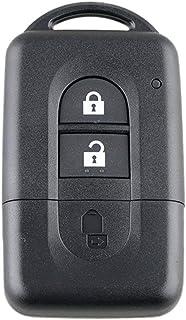 Lorenlli Mini Caso Remoto Clave Key Fob Caso Inteligente para Nissan Qashqai X-Trail Micra