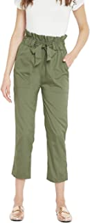 PANIT Women's Relaxed Fit Regular Pants