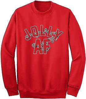 Jolly AF Christmas Unisex Adult Sweatshirt