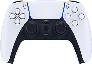 eXtremeRate Capa decorativa azul meia-noite para controle DualSense, capa de clipe de substituição DIY de toque suave para...