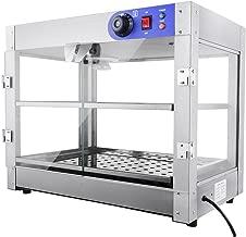 PNR 2-Tier 110V Commercial Countertop Food Pizza Warmer 750W 24x20x15