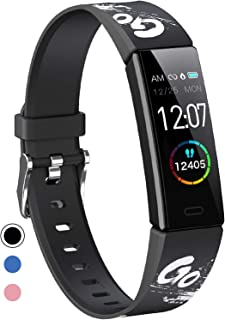 Sponsored Ad - Mgaolo Slim Fitness Tracker, IP68 Waterproof Activity Tracker with Blood Pressure Heart Rate Sleep Monitor,...