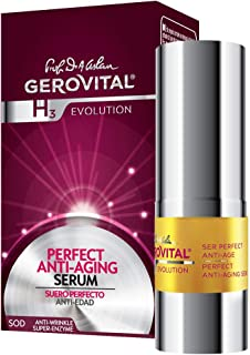 GEROVITAL H3 EVOLUTION, Perfect Anti-Aging Serum With Superoxide Dismutase (The Anti-Aging Super-Enzyme) 45+