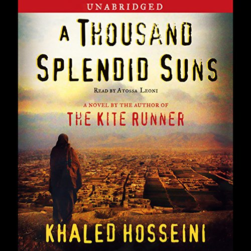 A Thousand Splendid Suns                   By:                                                                                                                                 Khaled Hosseini                               Narrated by:                                                                                                                                 Atossa Leoni                      Length: 11 hrs and 43 mins     10,174 ratings     Overall 4.5
