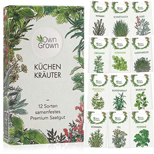 OwnGrown -  Kräuter Samen Set