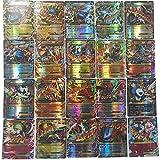 (80EX + 20MEGA) 100 pcs Pokemon EX Mega Energy Cartes