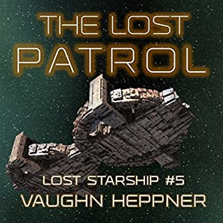 The Lost Patrol audiobook cover art