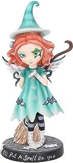 comprar comparacion Nemesis Now I 'll Put A Spell On You - Figura Decorativa (23,5 cm), Color Azul