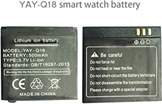 Smart Watch Lithium Battery 500MAH Capacity for Smart Watch Q18