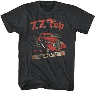 تي شيرت بأكمام قصيرة للبالغين مطبوع عليه American Classics Zz Top Established 1969