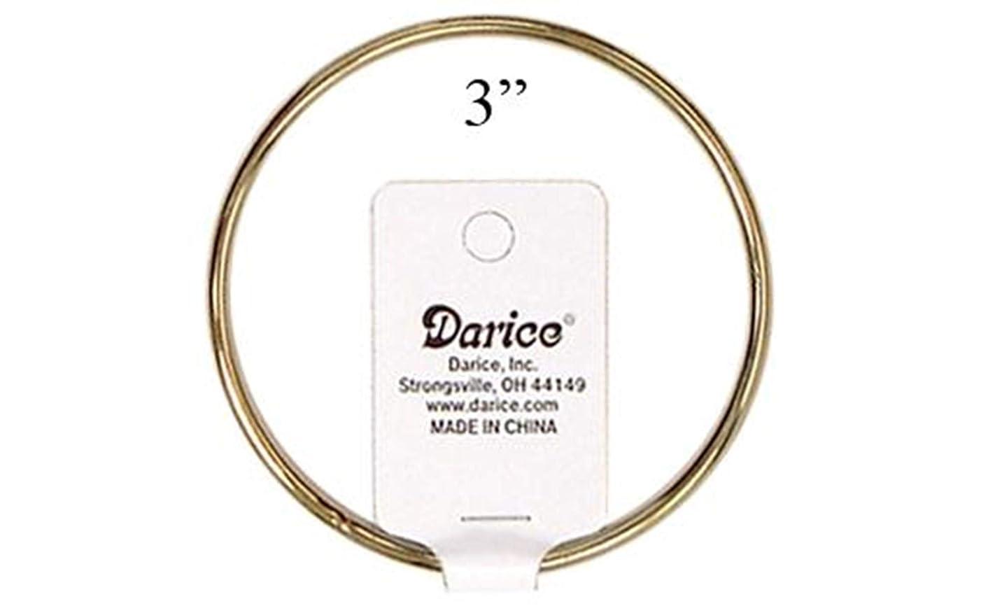 Darice Brass Metal Rings 3