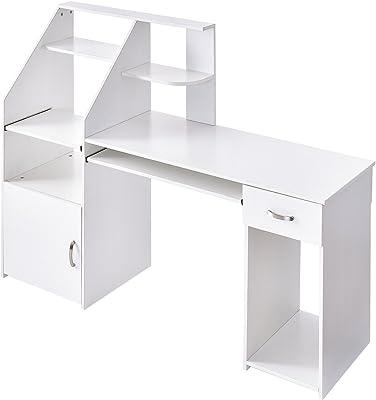 Amazon.com: South Shore 7259076 Axess Desk with Keyboard