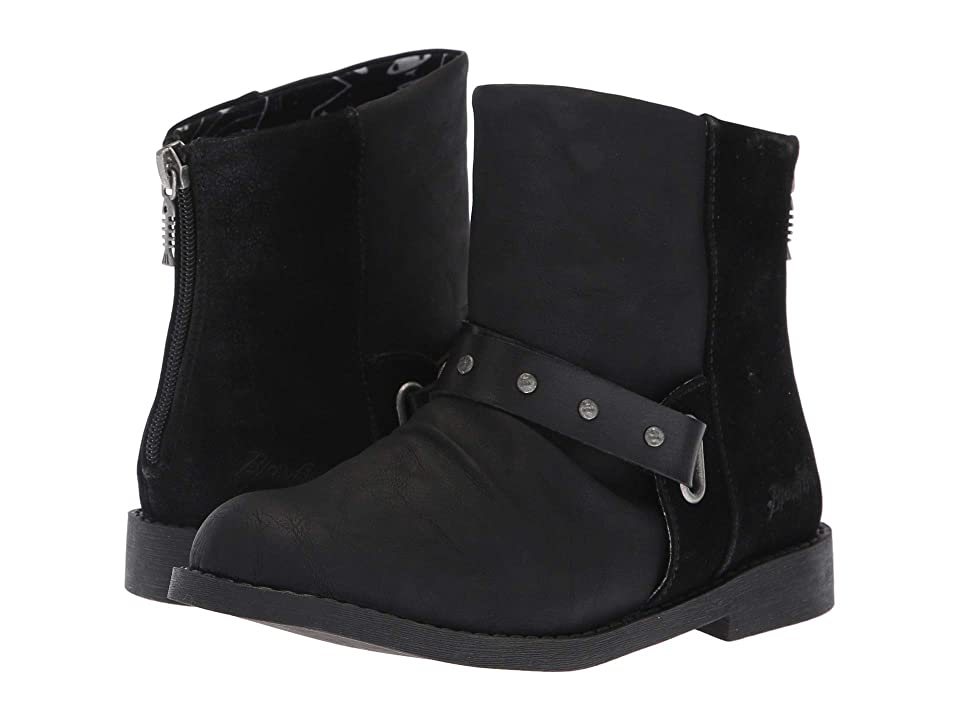Blowfish Kids Kalipso-K (Little Kid/Big Kid) (Black San Antonio) Girls Shoes