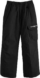 black snowboarding pants