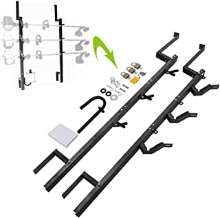 3 Place Weedeater Trimmer Racks Fit for Enclosed Trailers Racks