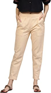 Jaipur Kurti Women's Straight Fit Pants