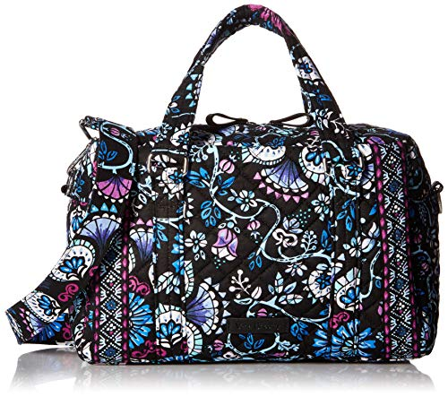 Vera Bradley Women's Signature Cotton 100 Satchel Purse, Bramble, One Size