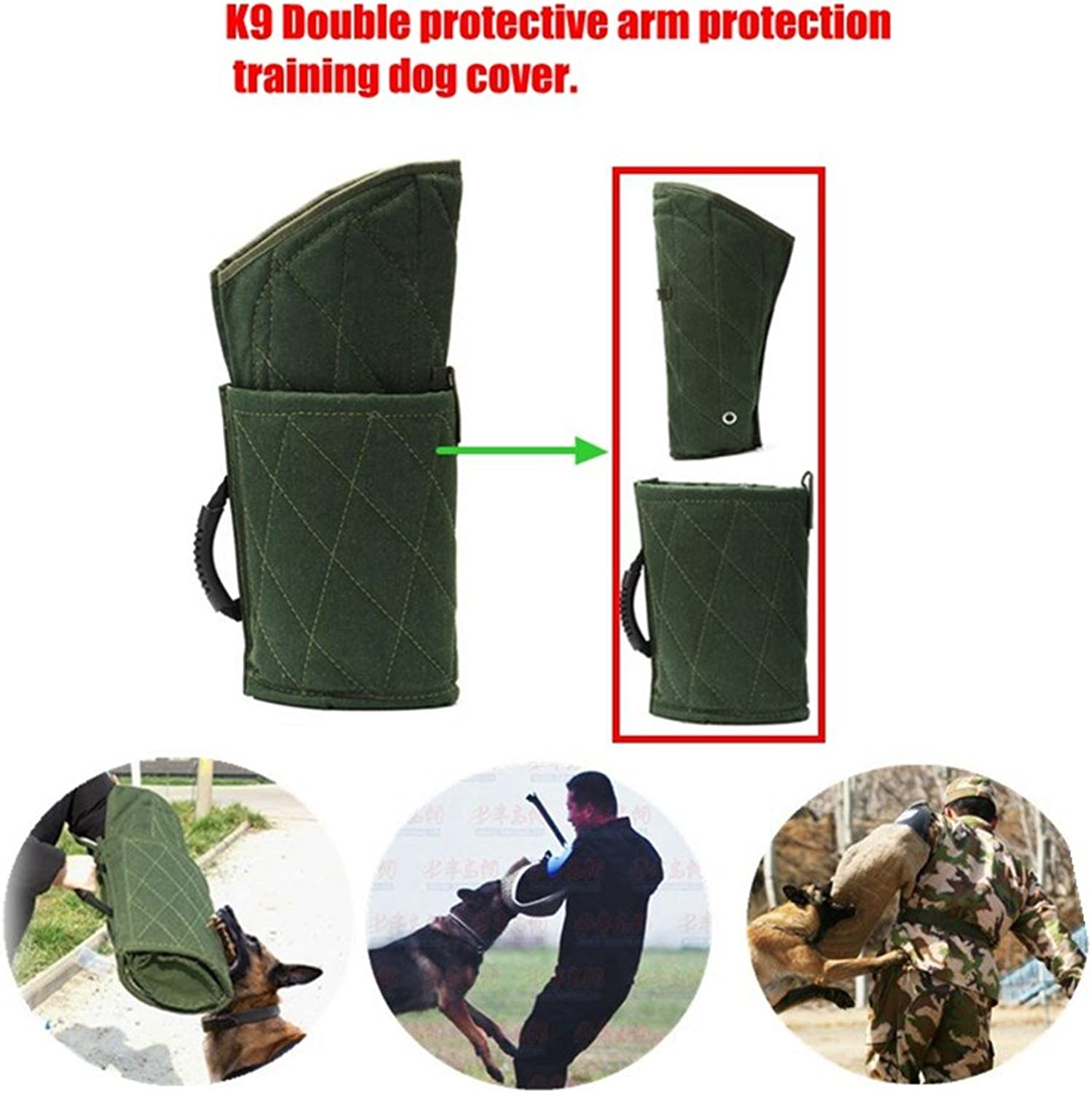 Luyang New Fashionable k9 Dog bite Predection arm Set for Young Police Dog pet Training Predection.