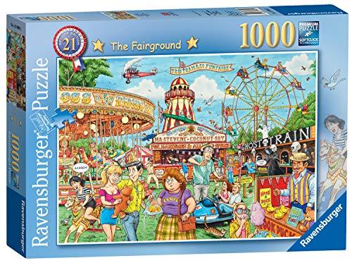 Ravensburger 13990 Best of British No.21-The Fairground, 1000pc Jigsaw Puzzle,