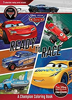 Disney Pixar Cars Ready to Race: A Champion Coloring Book