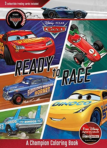 Ready to Race: A Champion Coloring Book (Disney Pixar Cars)