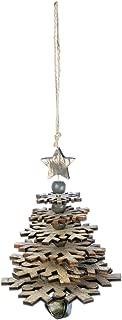 Sullivans Wooden Snowflake Tree Ornament