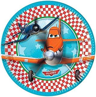 Disney Procos Planes 8 Paper Plates, 23 Cm - 81652 multicolour