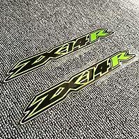カワサキニンジャZX 14R ZX14R ZX 14R 2019 2020、タンクパッドステッカーフェアリングエンブレムバッジロゴ装飾デカールオートバイ