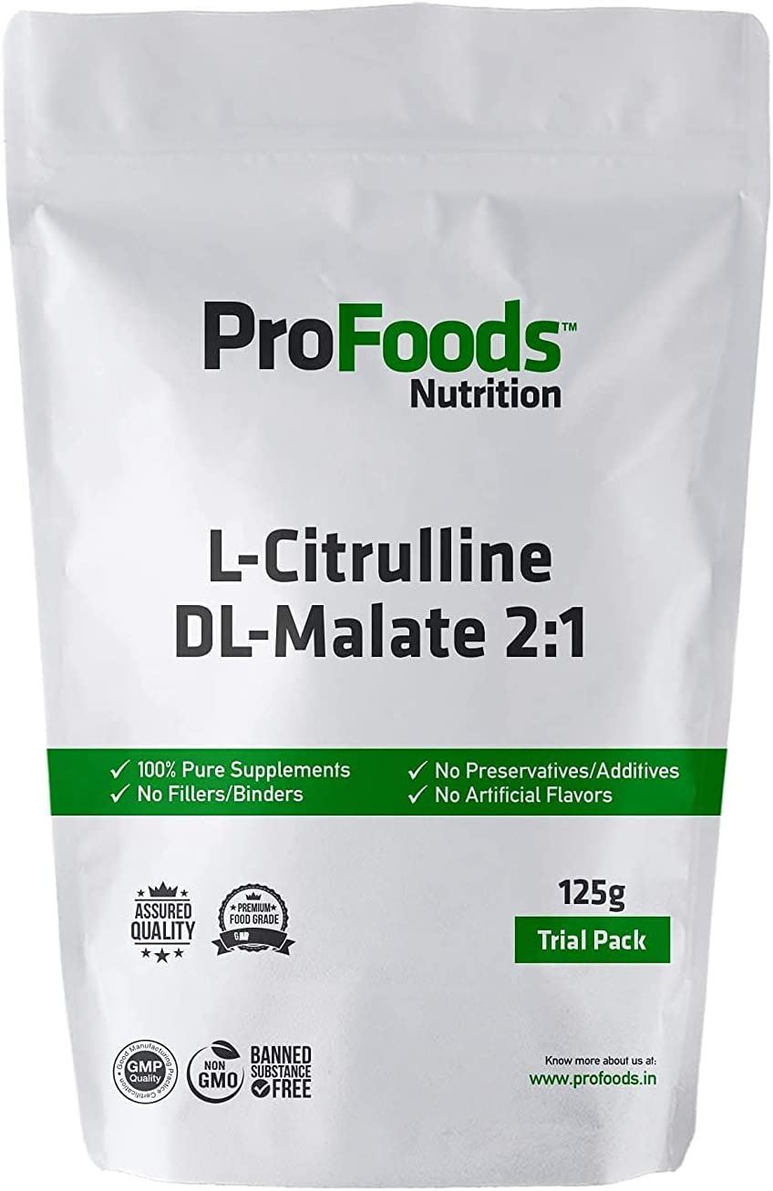 Anjani Profoods L Citrulline DL 125 Malate Luxury Grams Powder 2:1 Max 65% OFF