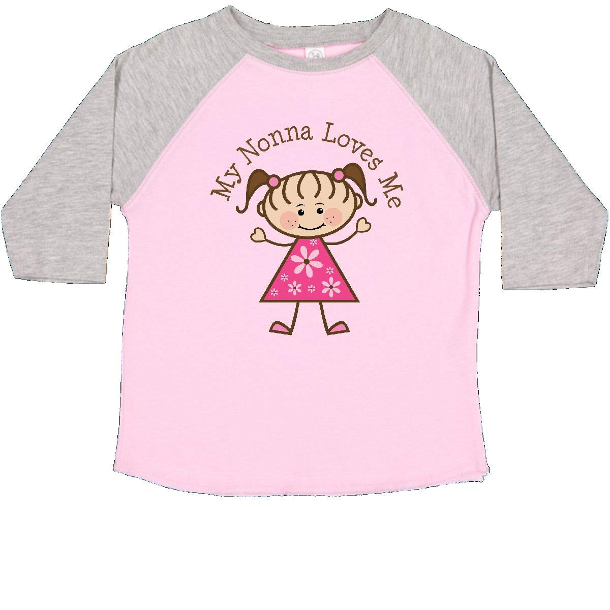 inktastic Loved by Nonna Toddler T-Shirt