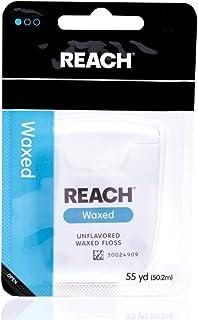REACH リーチ デンタルフロス ワックス Waxed 50M [並行輸入品]