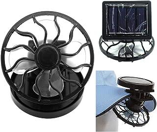 Ventilador zNLIgHT | Ventilador eléctrico portátil con energía solar alimentado por la mesa de viaje Mini enfriador de aire – Base aleatoria, 1 color, Random Base