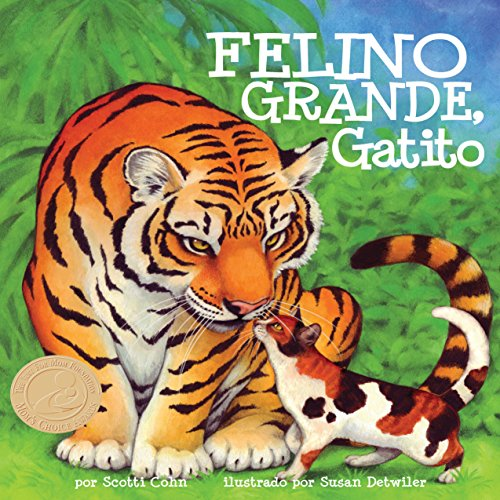 Felino grande, gatito [Big Cat, Little Kitty] copertina
