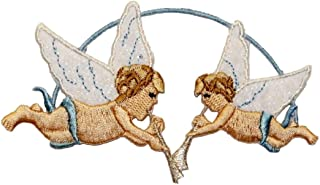 Patch Applique Patches Fabric Image Guardian Angel Guardian Angel Baby