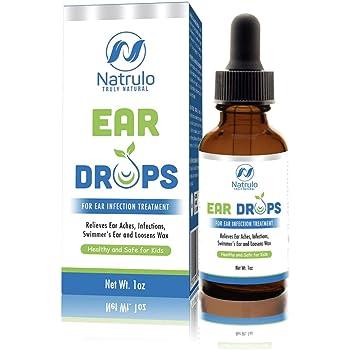 medicina para el dolor de oido en niños