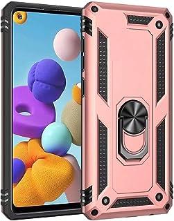 جراب Minwu لهاتف Huawei P Smart Z، مع مسند حامل دائري، واقي كامل للجسم من السيليكون TPU جل مخصص مضاد للصدمات ومتين لهاتف H...