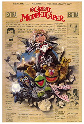The Great Muppet Caper Poster Movie (27 x 40 Inches - 69cm x 102cm) (1981)