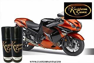 Kawasaki Candy Burnt Orange - 12oz Aerosol cans (3 Stage Color) - Paint Code 17L
